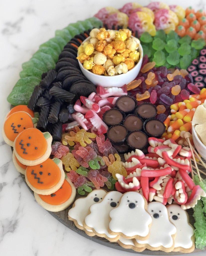 novelty halloween candy board
